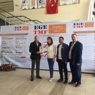 EGE TMF ASİL MAKİNA SEVDA KILIÇKIRAN PLAKET
